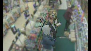 CCTV shows murderer meeting victim before fleeing house