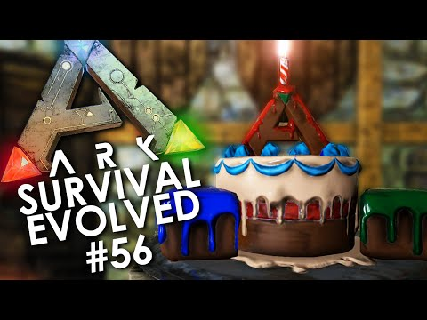 ARK: Survival Evolved - Episode 56 | CHILLIN IN OUR BIRTHDAY SUIT!