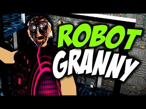 ROBOT GRANNY Y SU NUEVA CASA DEL FUTURO! - GRANNY HORROR GAME GAMEPLAY