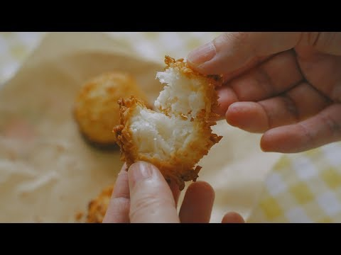 바삭쫀득!-코코넛-마카룬-:-coconut-macaroons-|-honeykki-꿀키