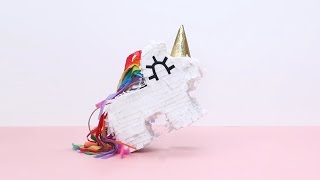 Mini Unicorn Piñata