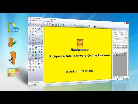 Richpeace CAD Software Online Lessons Tip Of The Day-Insert Or Edit Image V10