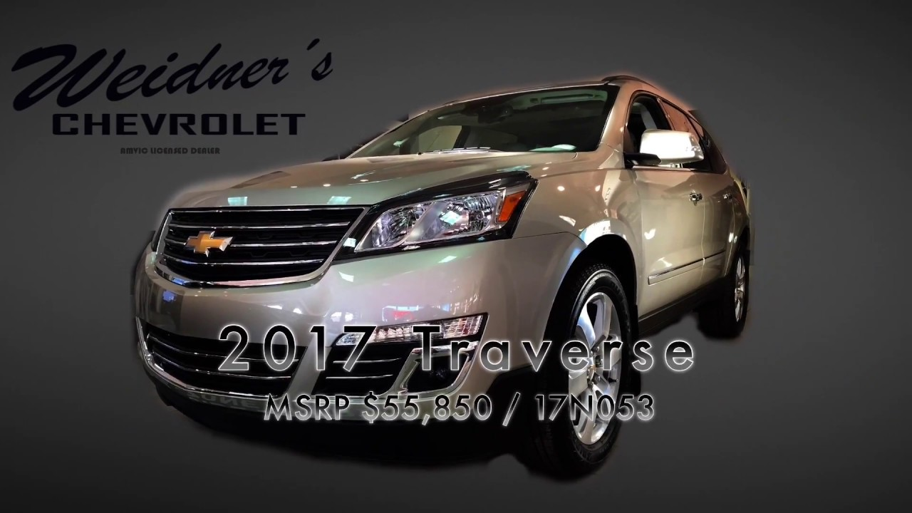 medium resolution of new 2017 chevrolet traverse 1lz champagne silver awd 17n053