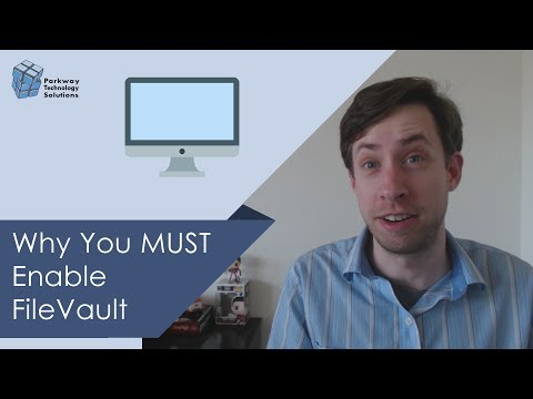 Why You MUST Enable FileVault