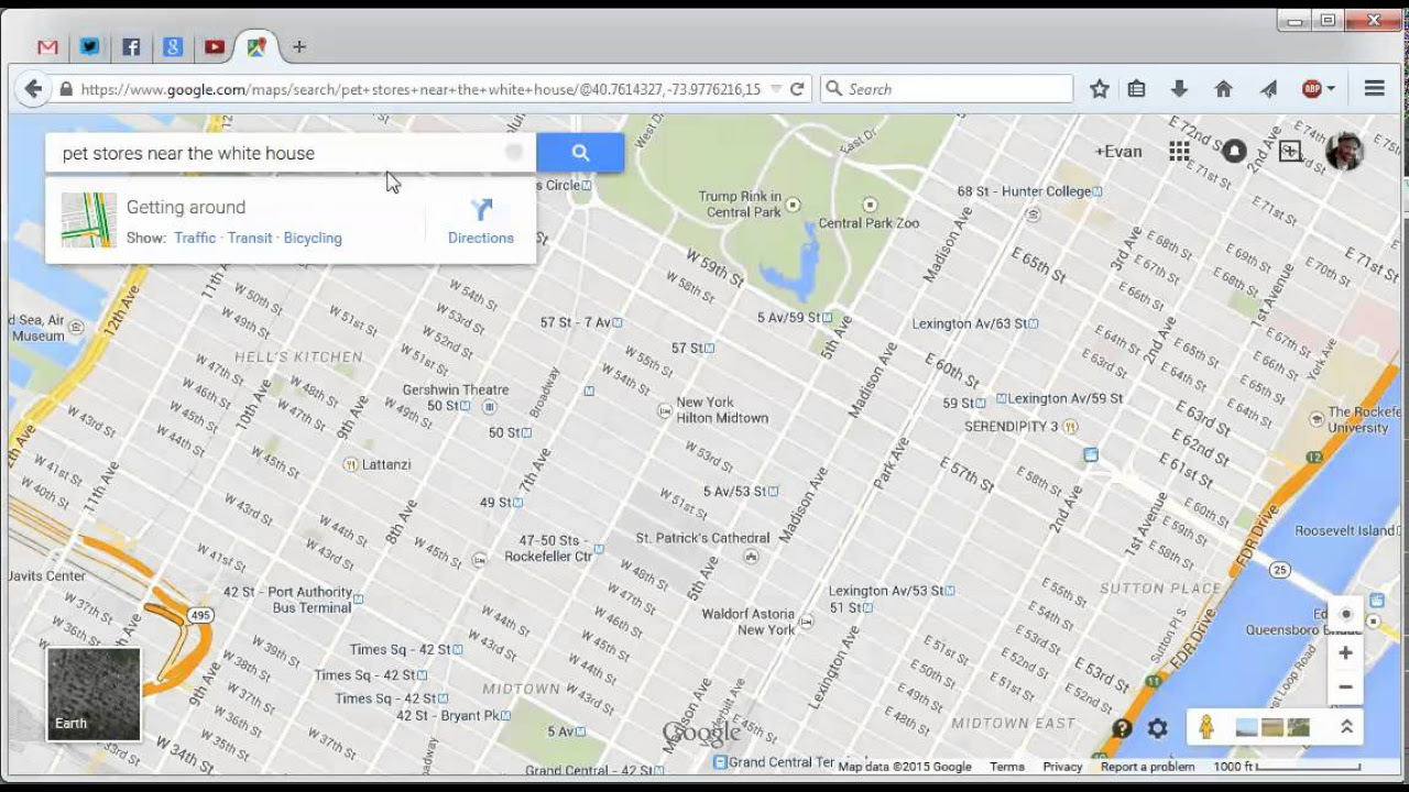 Google Maps Tricks You Need To Try PCMagcom - Nyc map funny