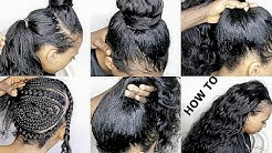 HOW TO DO NATURAL LOOKING SEWIN WEAVE ( VERY NATURAL LOOKING)