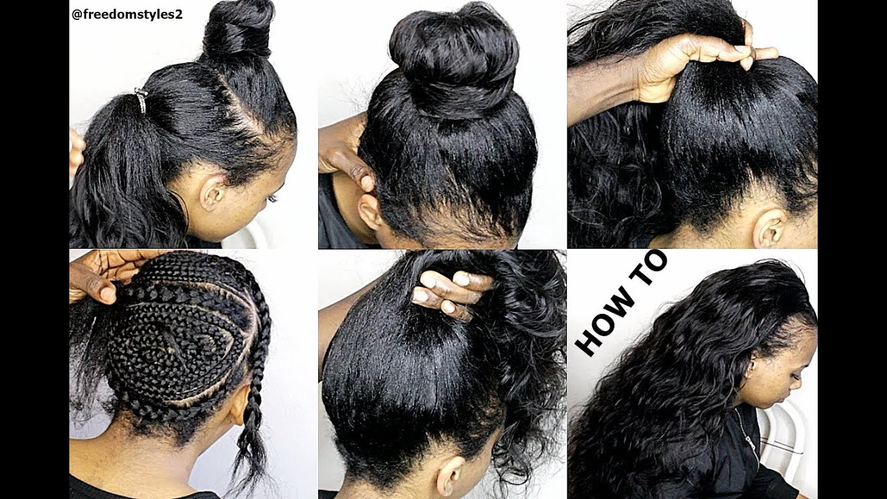 How To Do Natural Looking Sewin Weave Very Natural