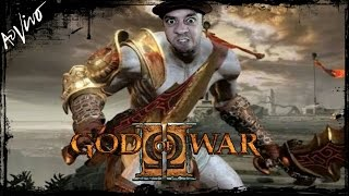 GOD OF WAR 2 PS3 Ω 🔴 [[ LIVE ]] 🔴 - TREINAMENTO VERY HARD PARTE 2 - AO VIVO