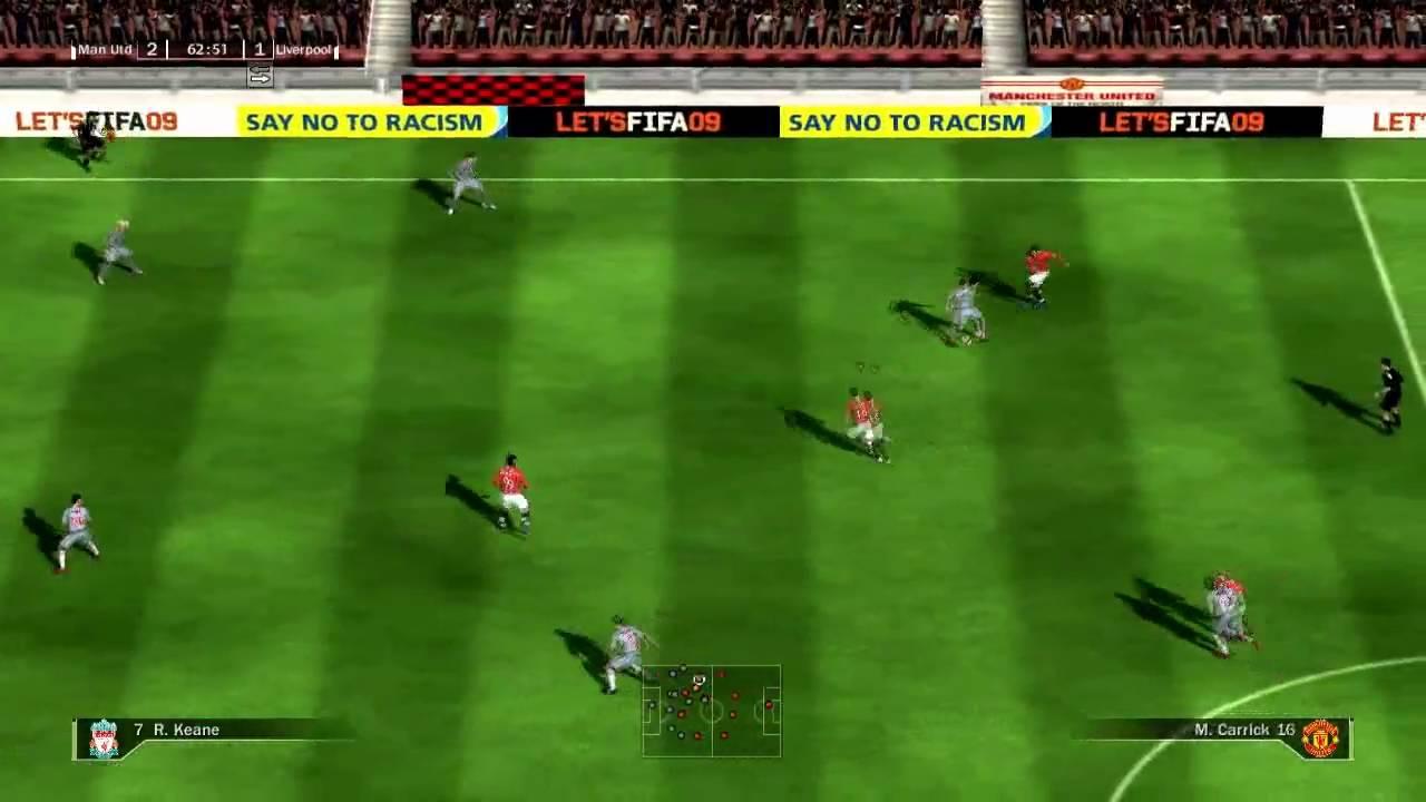 1 - Fifa 09 Friendly Gameplay ...