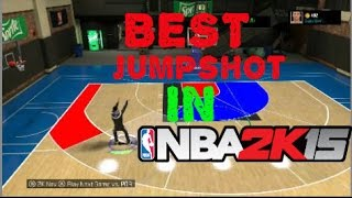 NBA 2K15 My Career - Best Jumpshot In NBA 2K15!!! For My Career & Also My Park & Quickest Release Thumbnail