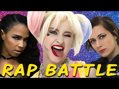 HARLEY QUINN & BIRDS OF PREY: Princess Rap Battle (Mary Kate Wiles SWOOP Whitney Avalon) *explicit*