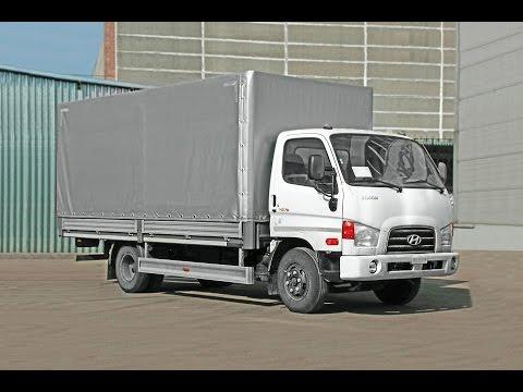 Hyundai HD 78 бортовая платформа с тентом