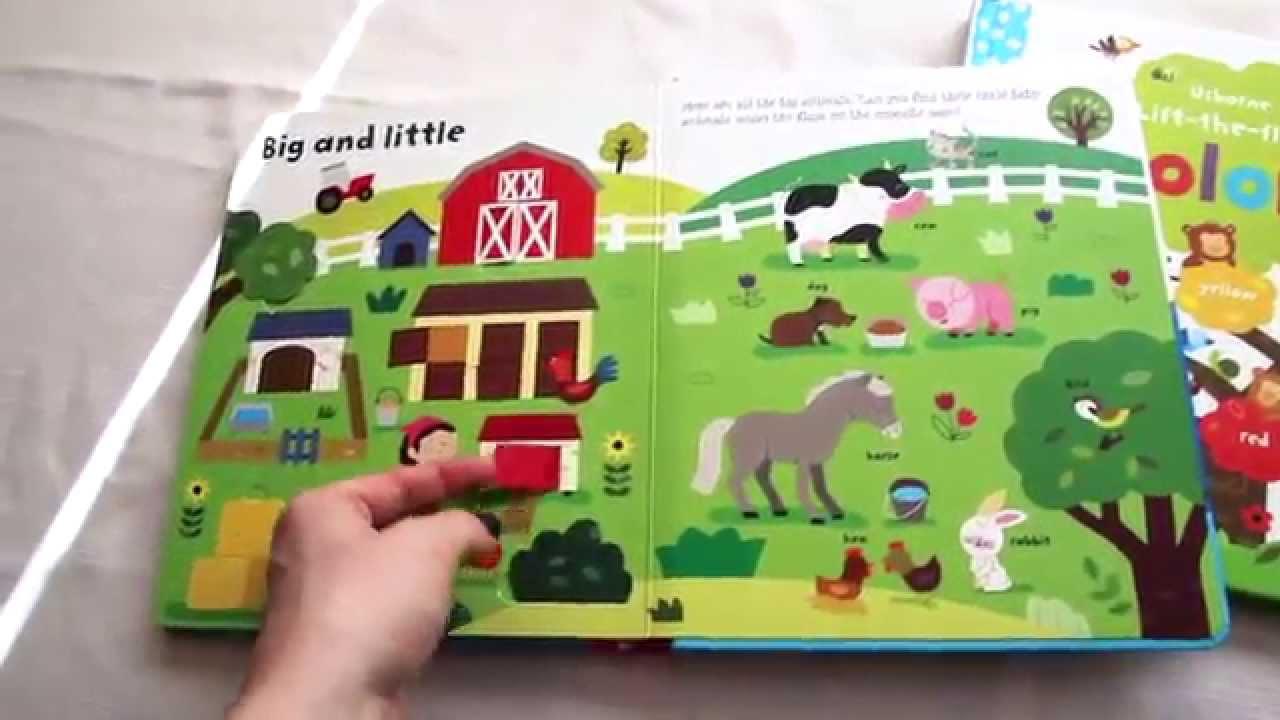 books toddler flap usborne flaps
