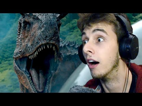 Download Youtube: JURASSIC WORLD 2 TRAILER REACTION! (2018)