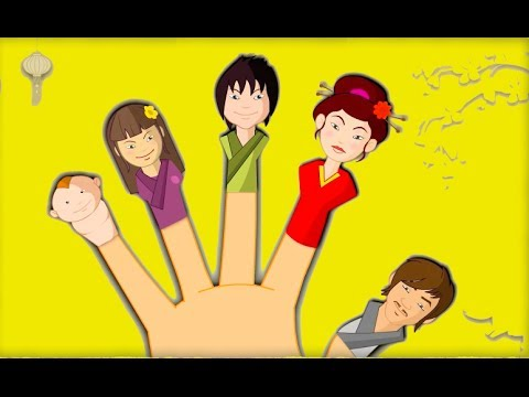 Finger Family (Japanese Family) Nursery Rhymes For Children