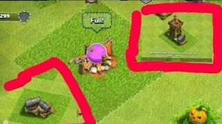 How To Merge Two Buildings In Clash Of Clans | Biggest Glitch in Clash of Clans | 2018