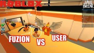 Roblox: JailBreak: CHALLENGE: User vs Fuzion