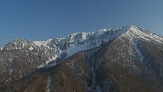大山桝水高原と北壁