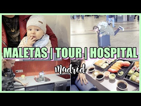 Ese HORRIBLE MOMENTO... 😅 | VISITA al HOSPITAL 👶🏻 | TOUR APARTAMENTO MADRID | VLOGS DIARIOS