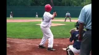 Kid hits 5 home runs at Cooperstown All-star Village