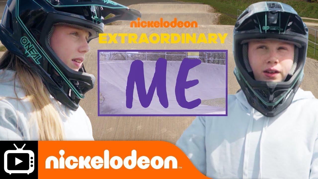 Meet BMX Champion, Freia Challis! | Extraordinary Me | Nickelodeon UK