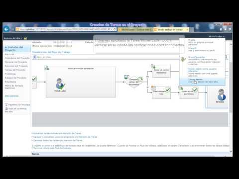 Programacion de Tareas con SharePoint - Project Server