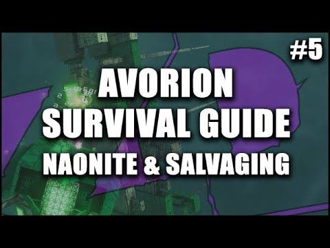 AVORION Survival Guide 5: Finding Naonite, Shields & Salvaging at Scrapyards