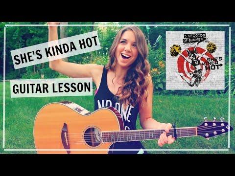 She's Kinda Hot - (5SOS) 5 Seconds of Summer // Guitar Tutorial
