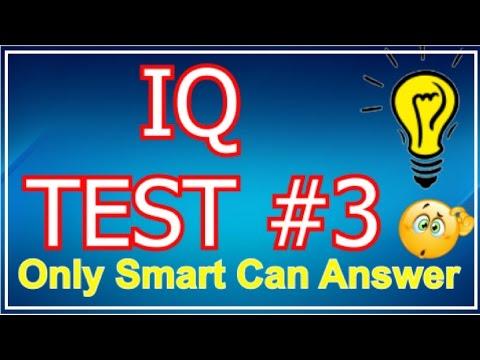 IQ TEST #3 | Logical Reasoning