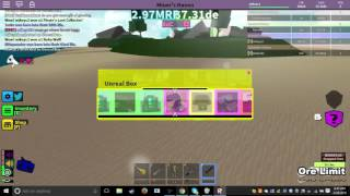Roblox Miners Haven 28 Unreal Boxes Opening