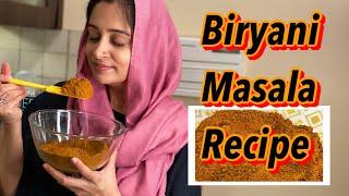 HOME MADE BIRYANI MASALA RECIPE  HOW TO MAKE BIRYANI MASALA  BIRYANI MASALA  DIPIKA KAKAR IBRHAIM