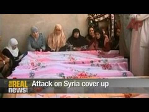 Attack on Syria cover up