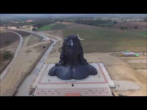 AdiYogi (Isha Foundation) - Aerial View, Coimbatore, Tamilnadu