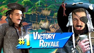 ROYAL VICTORY WITH TWO RUTHLESS PIRATES!! - Fortnite ITA