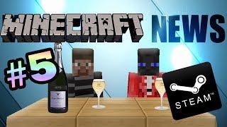 Minecraft News #5 - Minecraft в Steam'e?? O_o