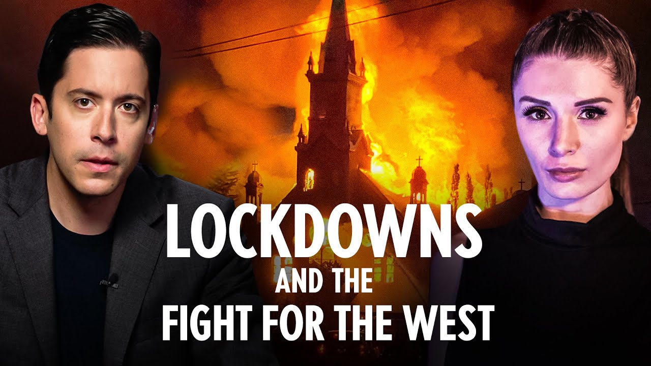 Lauren Southern | Lockdown PRISONS and Destruction of The Church and The West