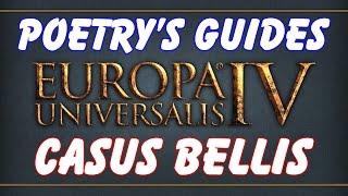 How To: get a Casus Belli in EU4!