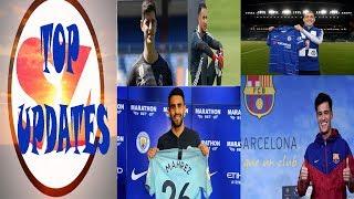 FOOTBALL TOP UPDATES VIDAL TO BARCA COUTINHO'S EUROPEAN CITIZENSHIP COURTOIS TO MADRID 