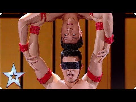 You will not BELIEVE your eyes as the Giang Brothers take to the stage! | Semi-Finals | BGT 2018