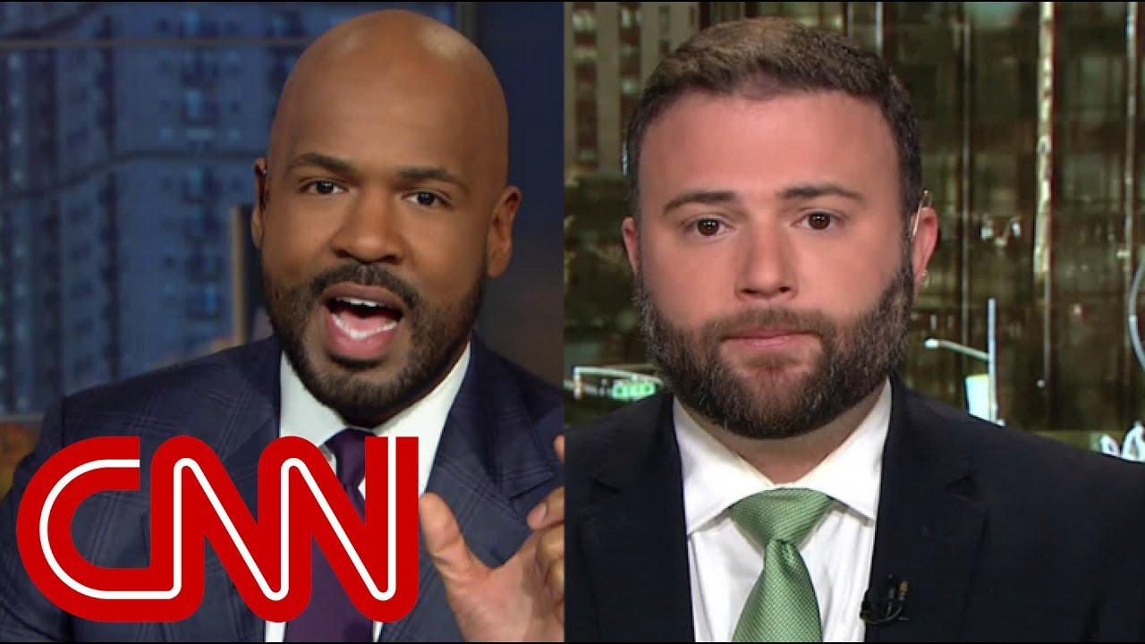 CNN anchor shuts down commentator over Trump lie