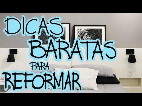 DICAS REFORMA BARATA