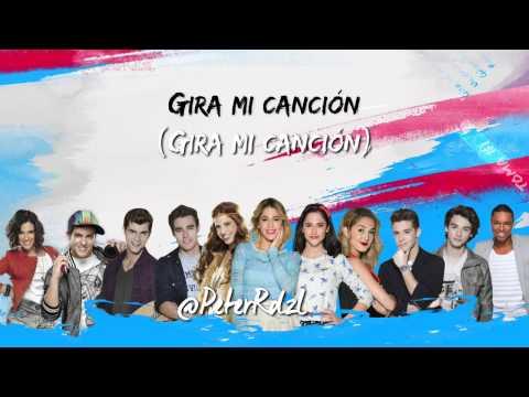 "Violetta 3   ""En Gira""   Letra   HQ"