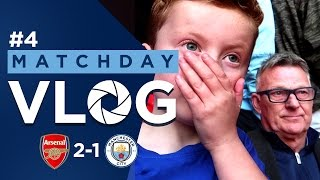 CITY AT WEMBLEY! | Arsenal 2-1 Man City | Braydon and Chappy Vlog
