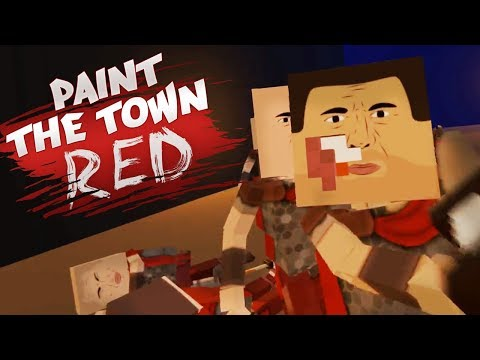 ПОБЕГ ИЗ РИМСКОЙ ТЮРЬМЫ! ОБЗОР КАРТЫ - Paint The Town Red