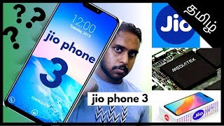 Jio phone 3 release date ,specification in Tamil | design ,price