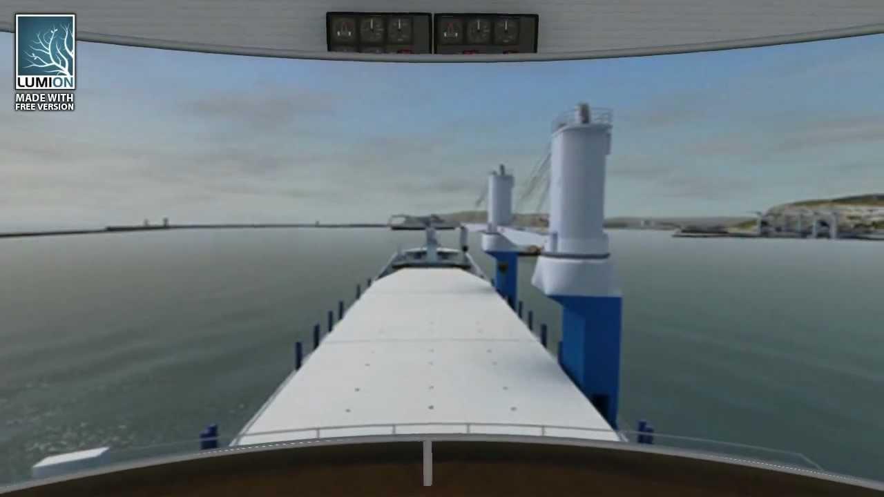 Download Nautis DNV Class A Full Mission Bridge Simulator options