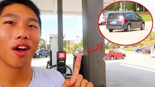 Sketchy Gas Station Incident! Unseen Moments 8