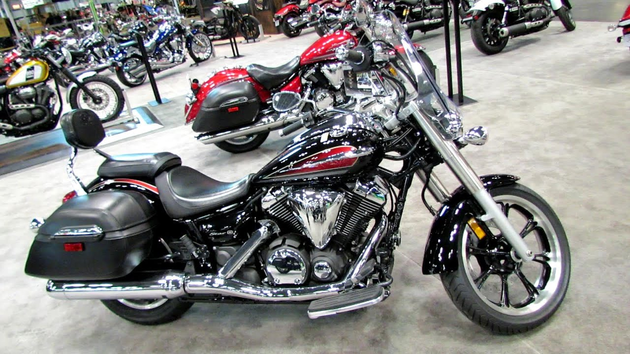 2014 Yamaha V-Star 950 Tourer Walkaround - 2013 NY Motorcycle Show ...