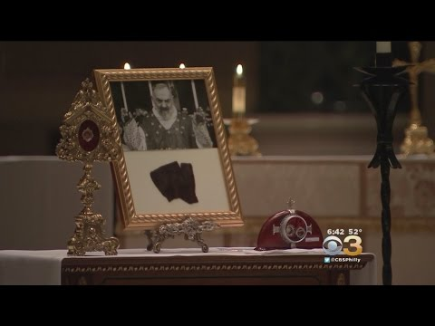 Rare Religious Relics From Italy Make Their Way To Philadelphia