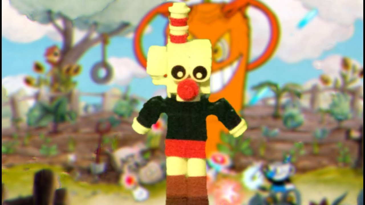 How To Build Lego Cuphead Youtube